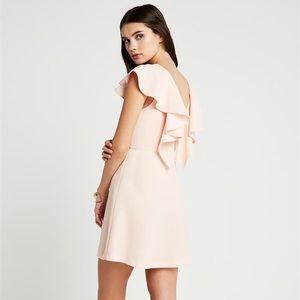Back Ruffle Dress